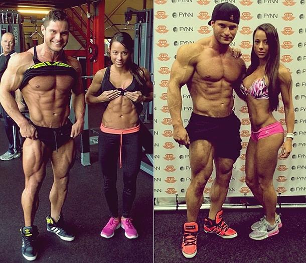 Pareja Tavi Castro y Sandra Prikke