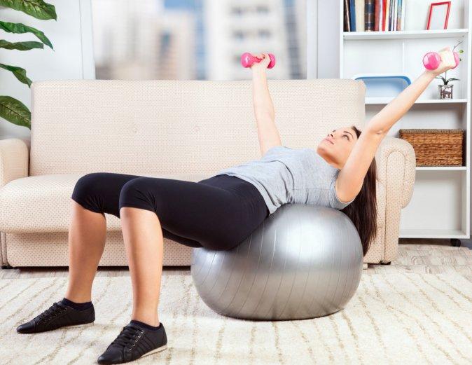 ejercicio en casa