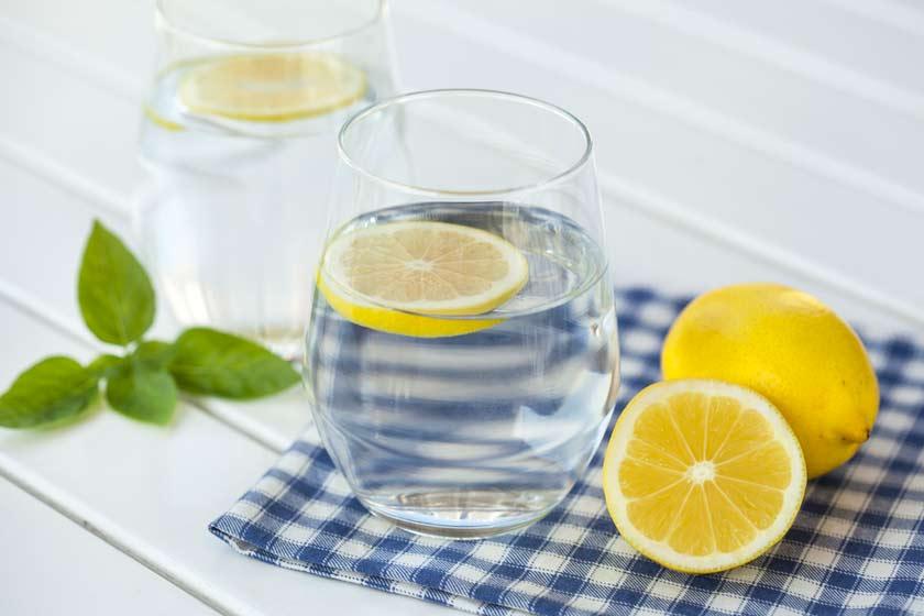 agua-limón