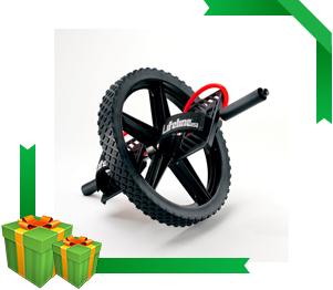 rueda para ejercicios de abdominales