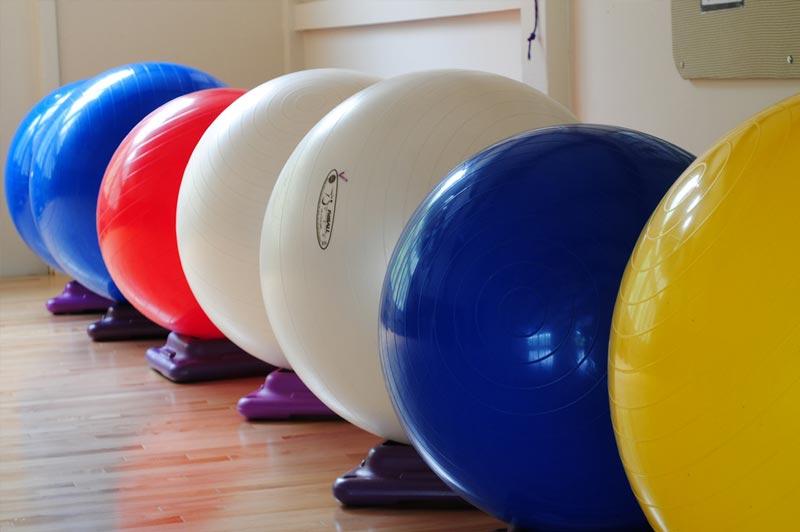 Rutina redonda con fitball