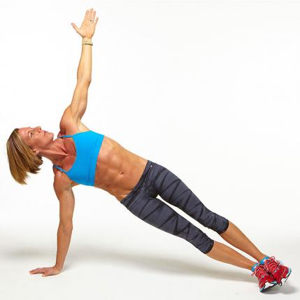 plancha con extension de brazos