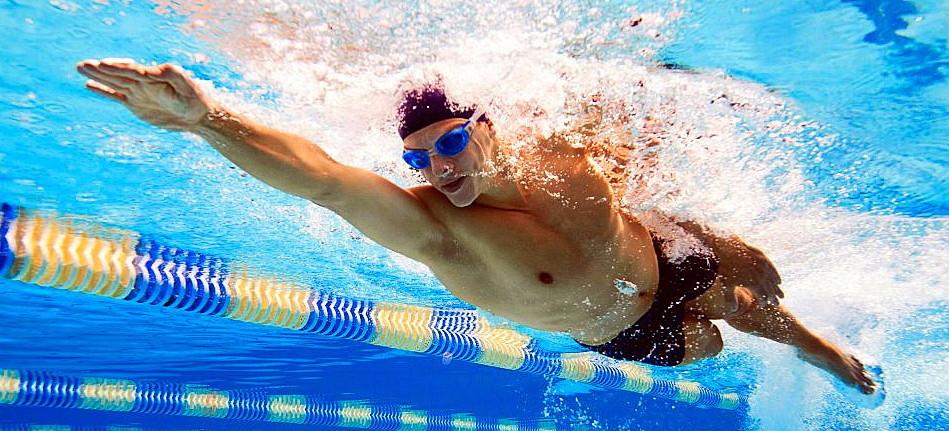 tonifica los músculos natación