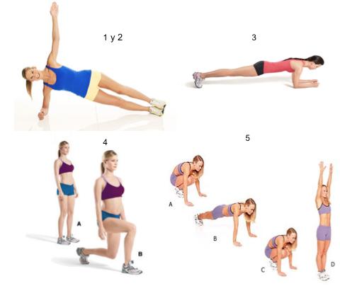ejercicios lunes