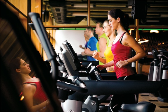Cardio Run on Elevation Treadmills mr2