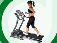Cinta de correr para montar gimnasio doméstico