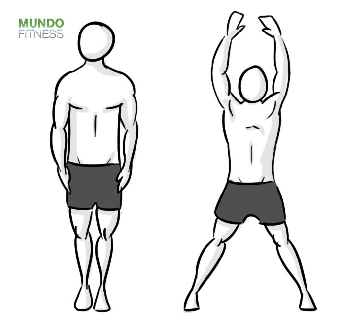 Circuito de ejercicios para poner a prueba la resistencia muscular