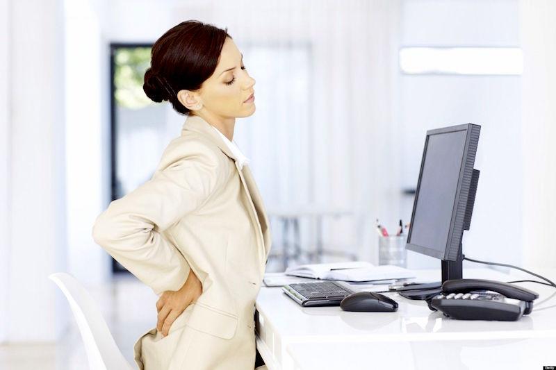 los mejores ejercicios durante el trabajo
