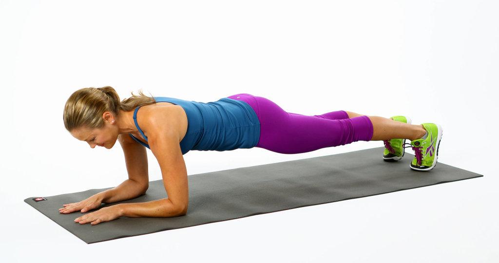 Plank ejercicio completo