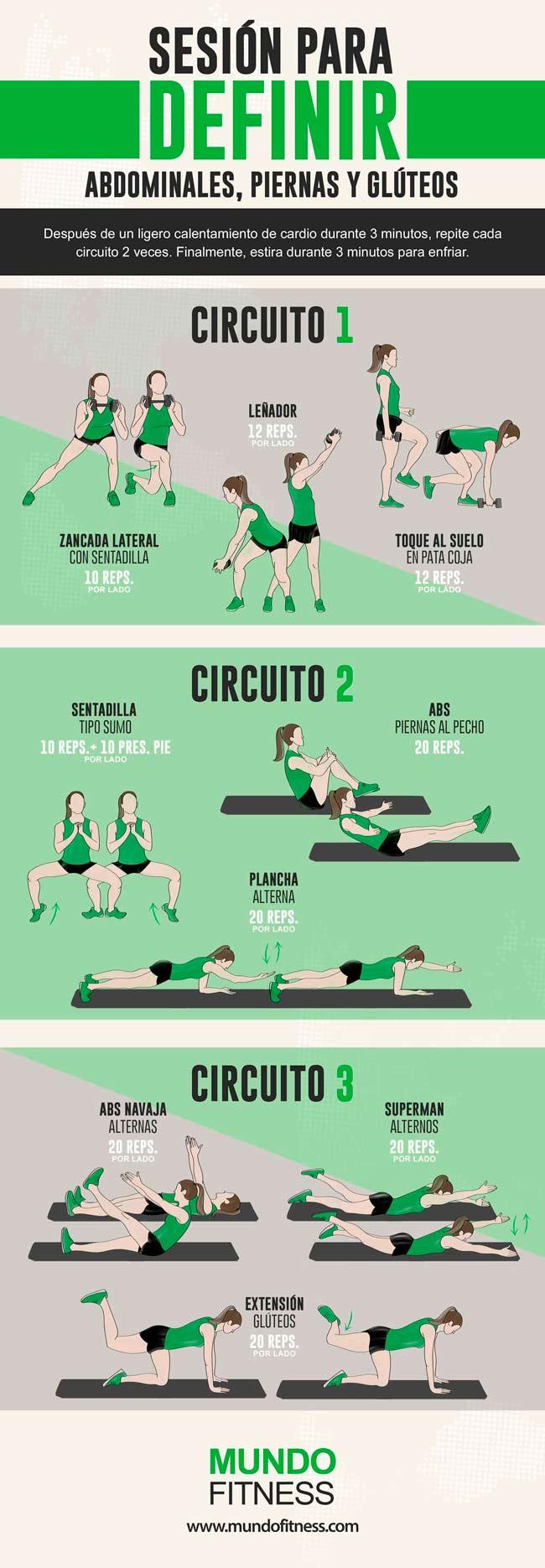 Rutina De 20 Minutos Para Abdominales Y Glúteos Mundo Fitness