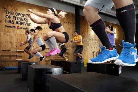 crossfit salto sobre caja