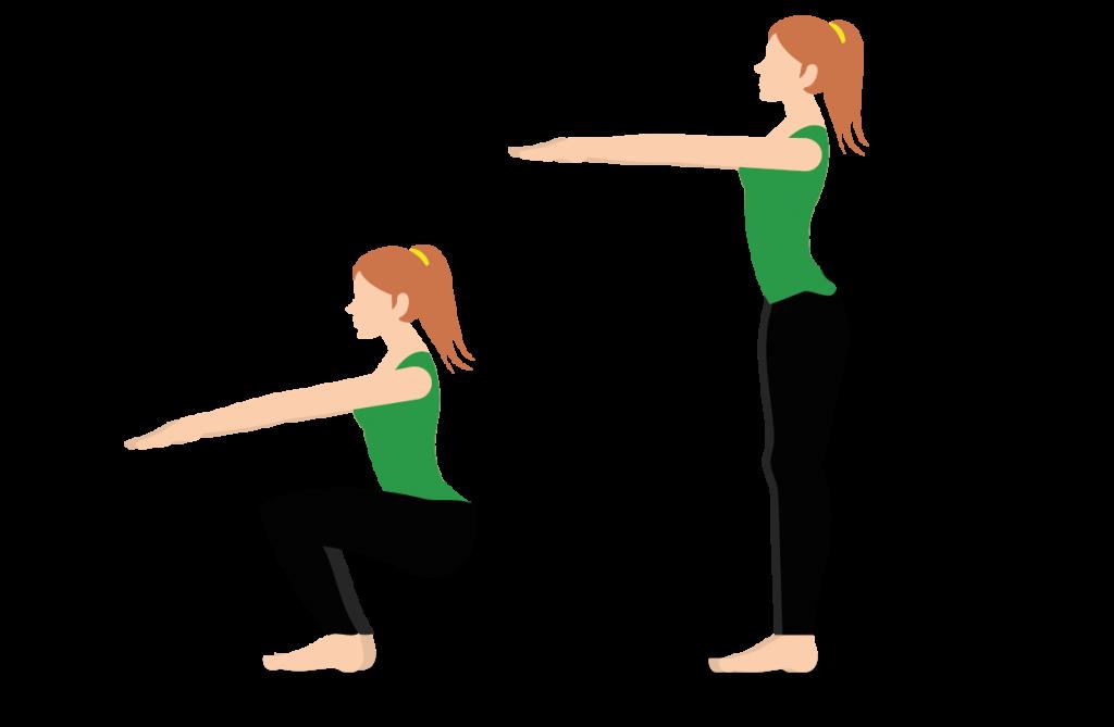 ejercicios para mejorar la resistencia sentadillas