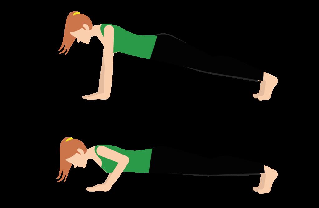 ejercicios para mejorar la resistencia flexiones