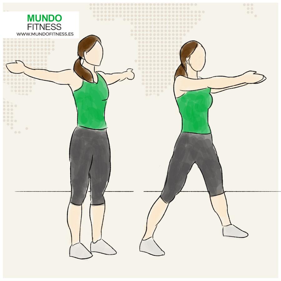 Circuito Quemagrasas : Circuito full body avanzado 5 movimientos mundo fitness