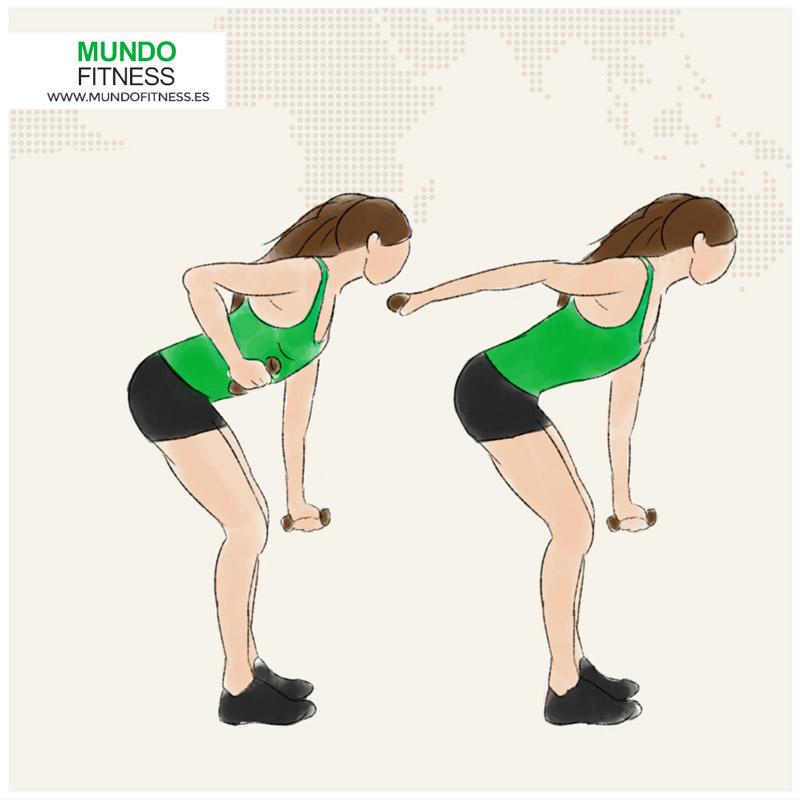 Rotando el tríceps