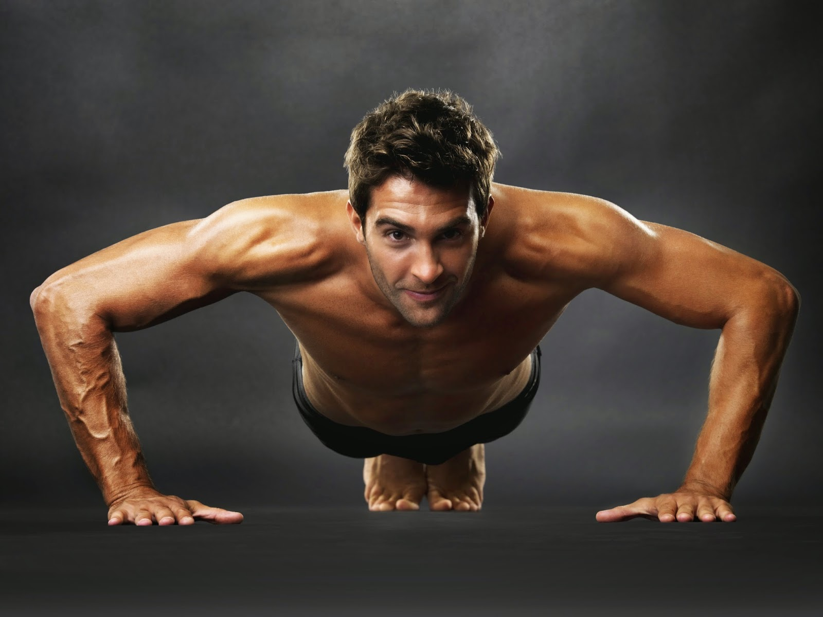 Man Doing Push up