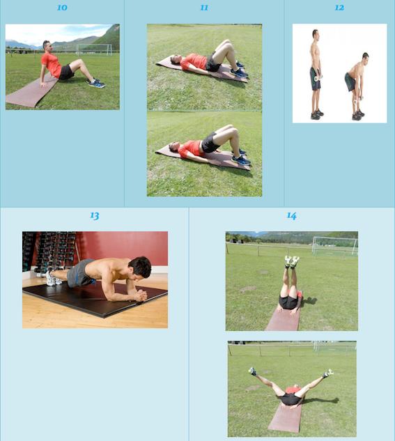 tonificar barriga y piernas