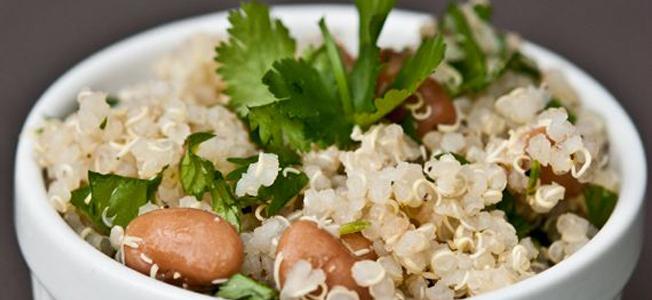 1/2 taza de quinoa cocida calorias
