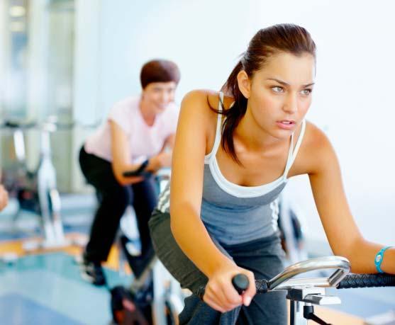 spinning para principiantes entrenando