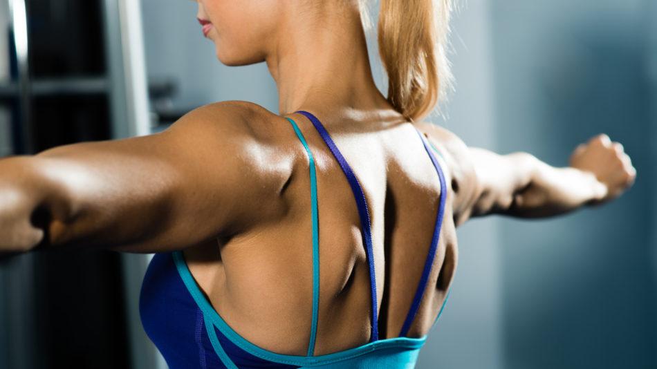 Ejercicios para adelgazar los hombros