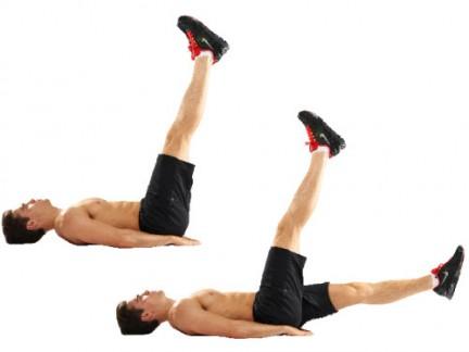 levantamiento de piernas alterno
