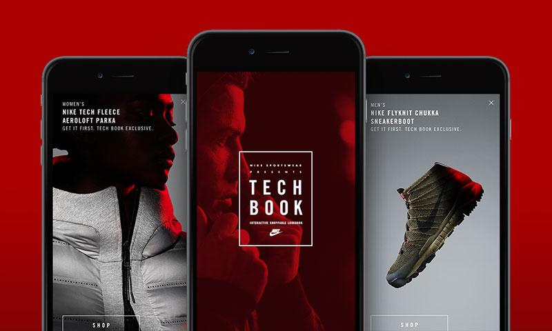 aplicacion nike tech book