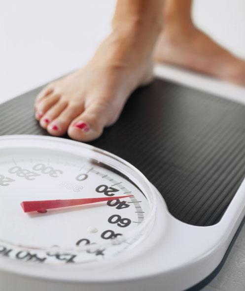 Meseta en la pérdida de peso