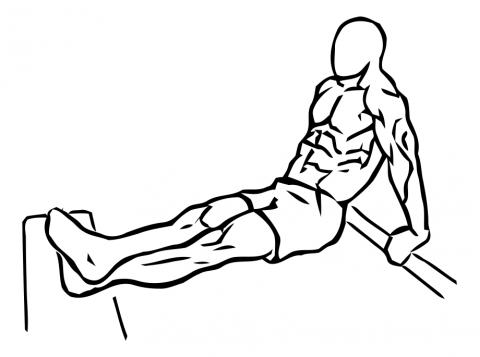 fondos triceps