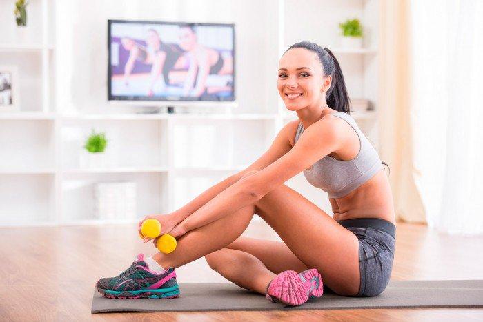 guía completa de ejercicio en casa