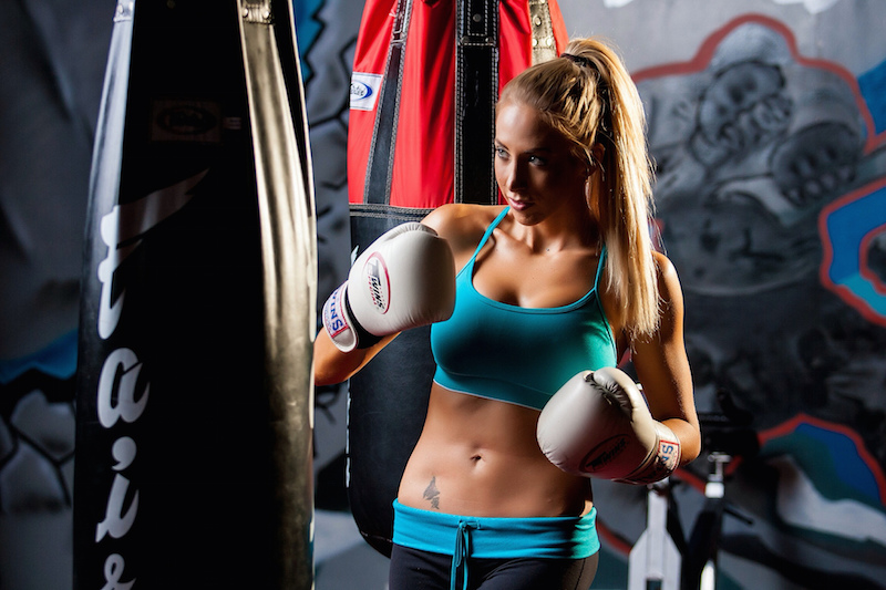 boxing wallpaper 1366x768 training athletic wear boxing girl body fitness sport