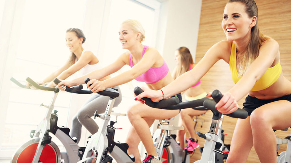 chicas spinning