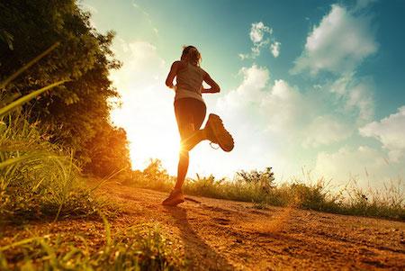 correr colinas