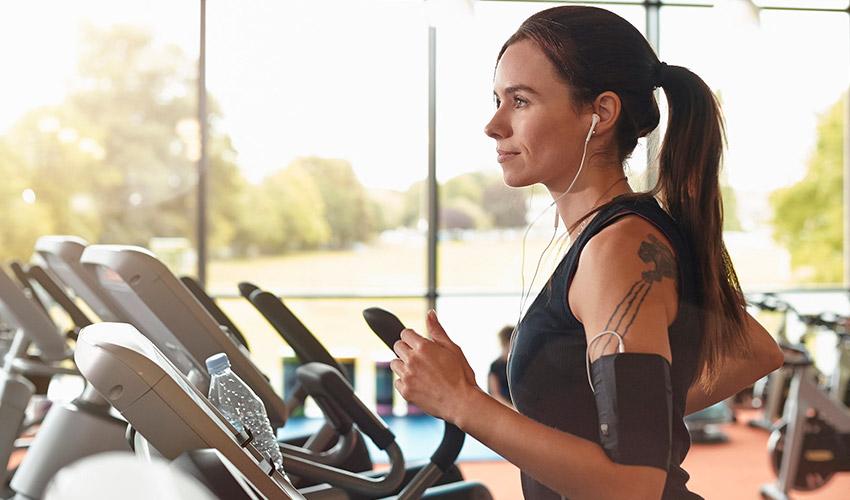 perder peso corriendo en cinta