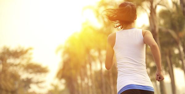correr por la tarde