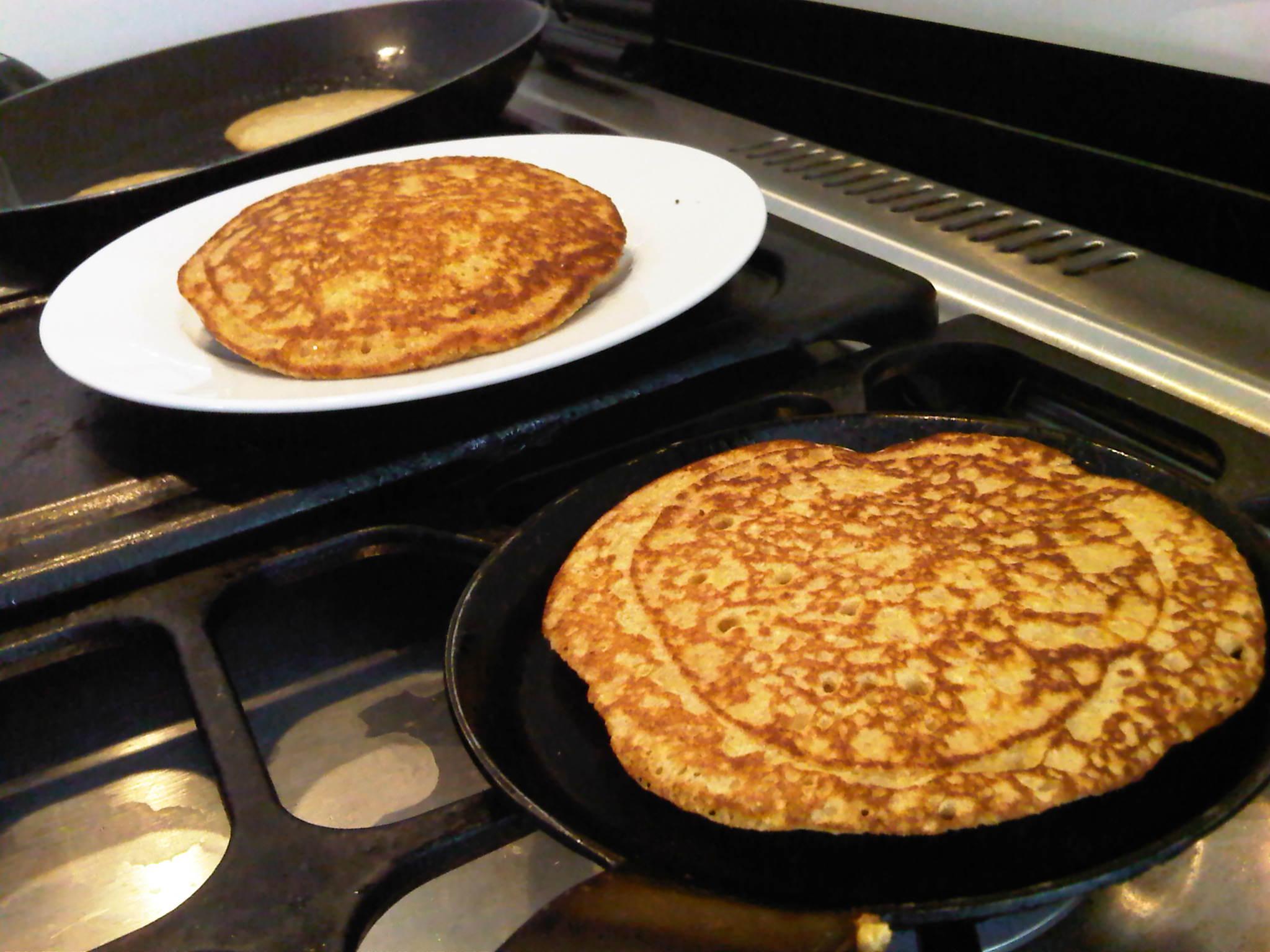 cocinar las pancakes