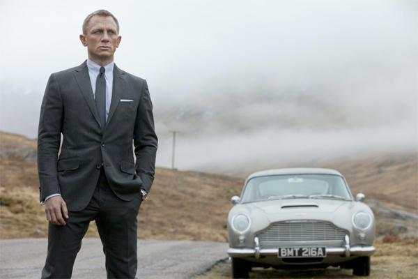 Peso, altura y porcentaje de masa corporal de Daniel Craig en Skyfall