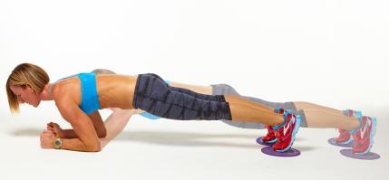 plank con movimiento