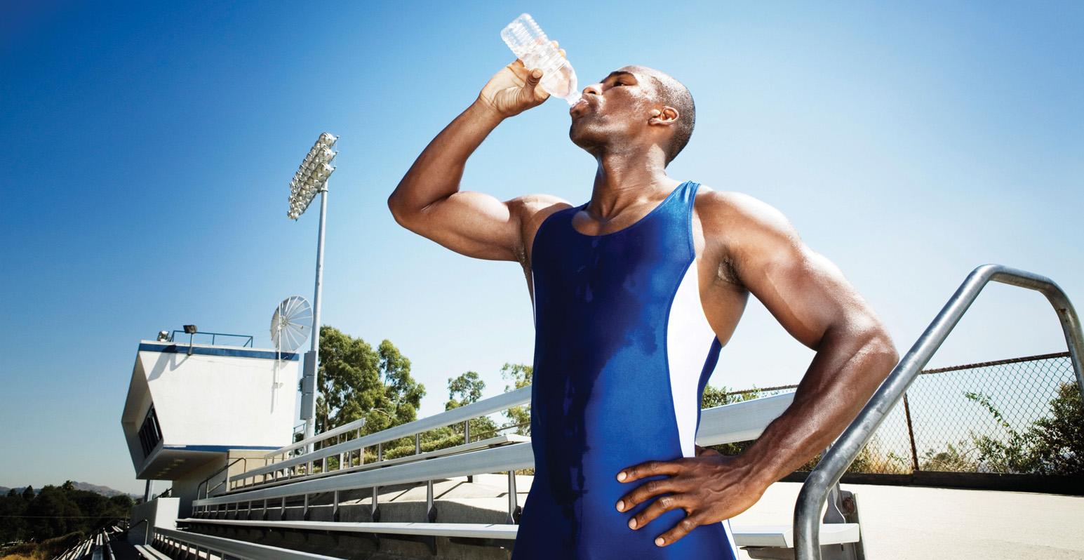 Consejos de hidratación para prepararse para competir