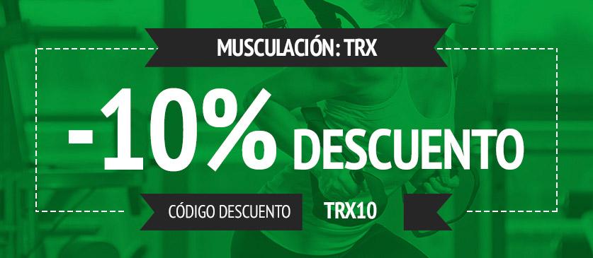 Cupon de descuento en productos TRX