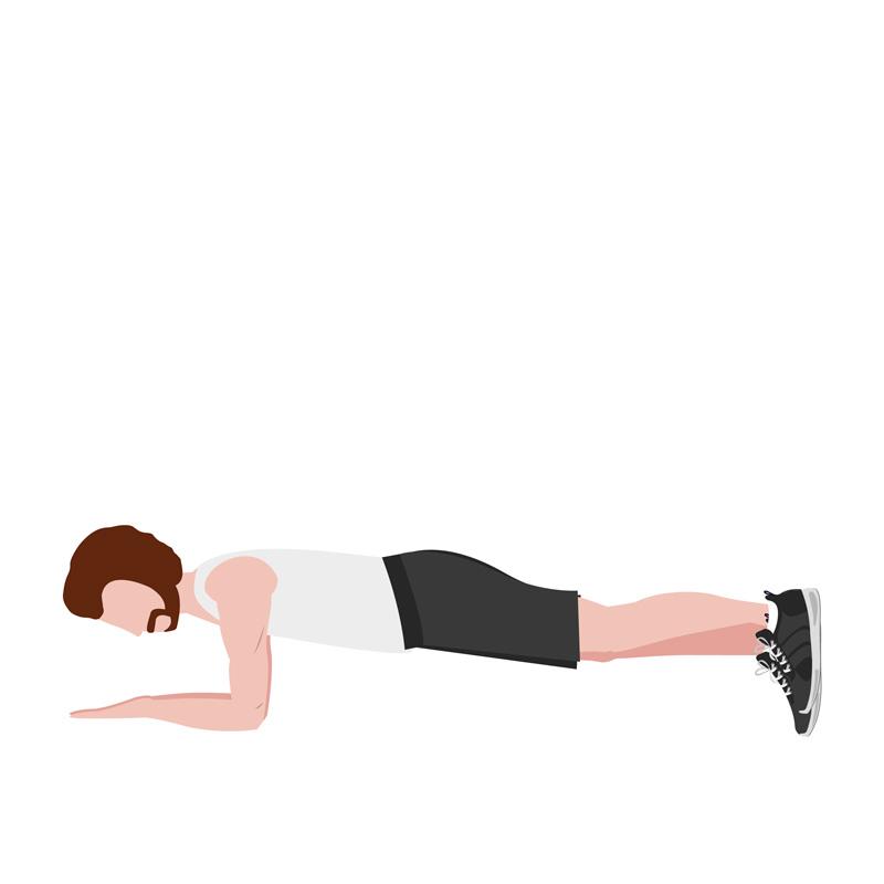 ejercicios para ciclistas en casa planks