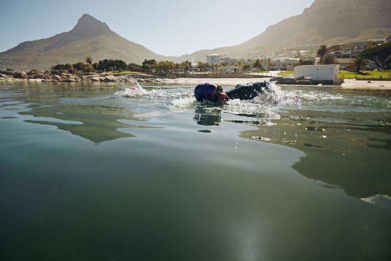 Entrenamiento triatlón principiante natación