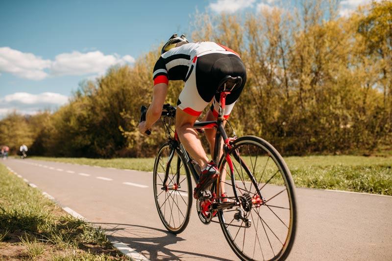 Entrenamiento triatlón principiante ciclismo