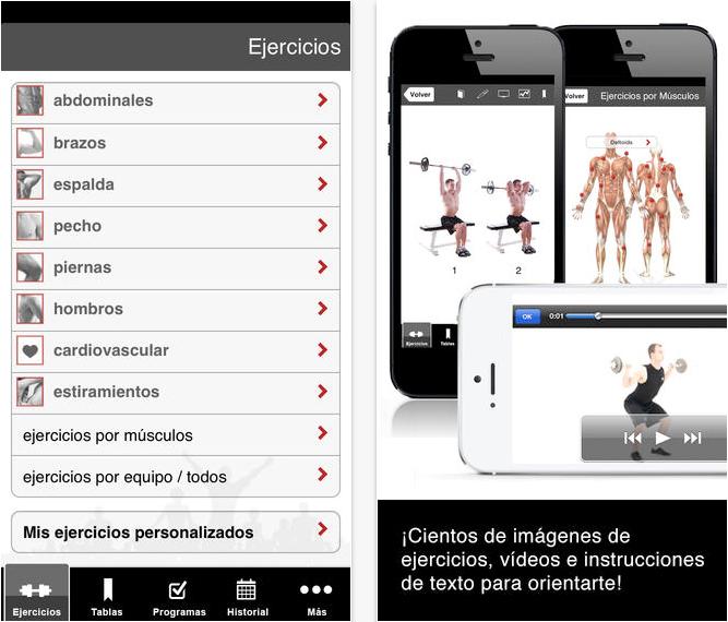 ejercicios musculos