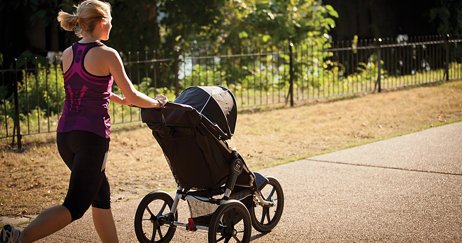 running con hijos