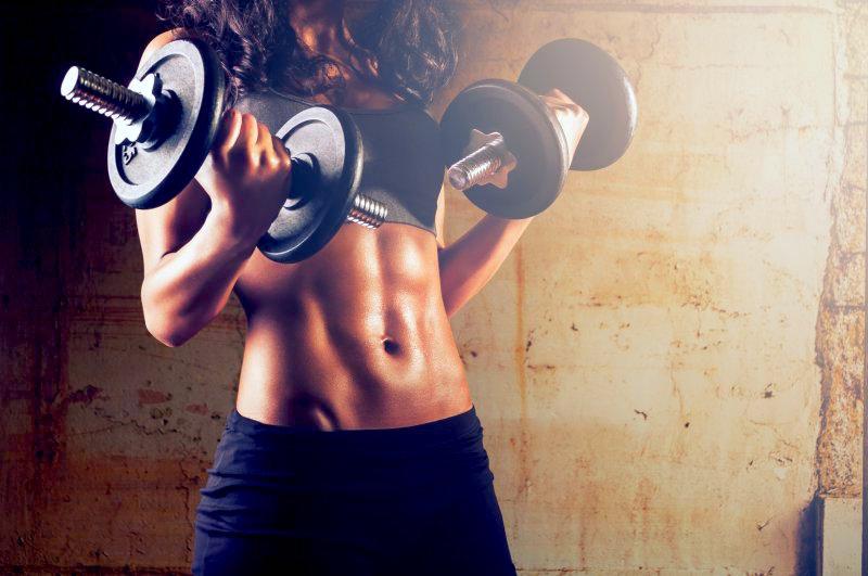 aumento de musculo en mujerers