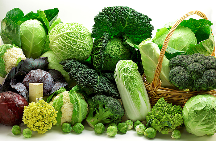 frutas verduras verdes