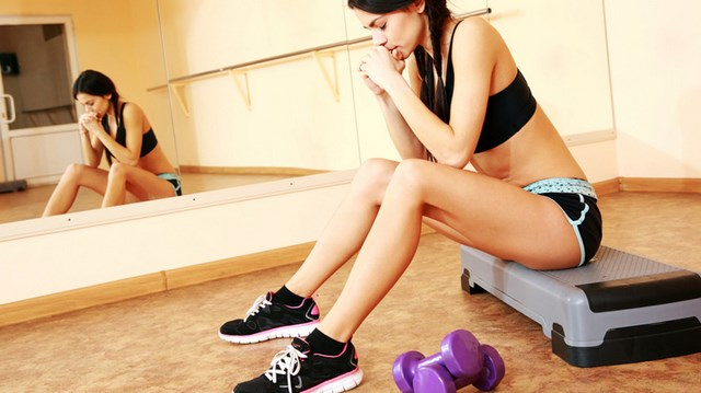 hacer ejercicio con la menstruación