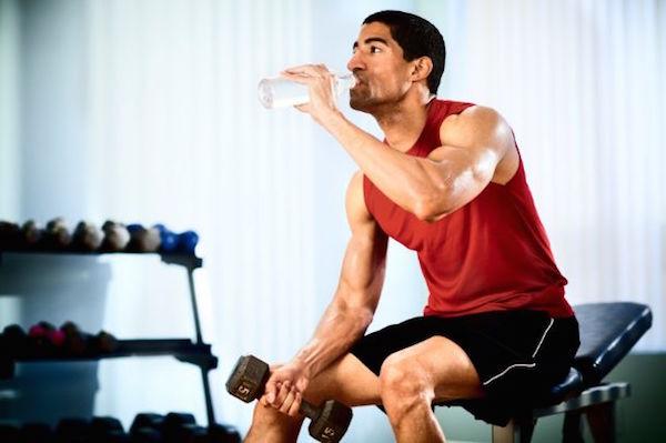 hidratarse gimnasio