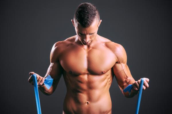 concentración en los músculos