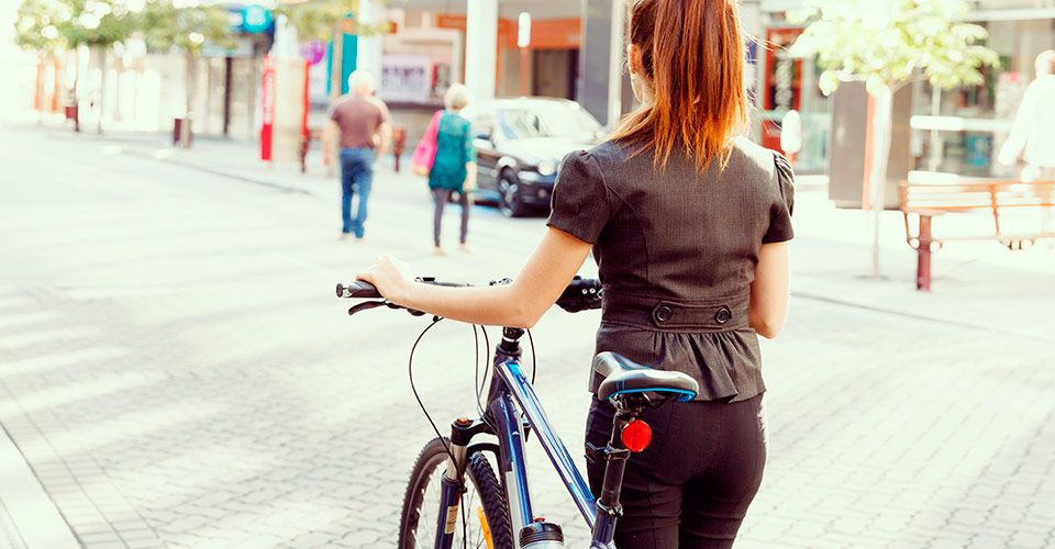 ir al trabajo en bici
